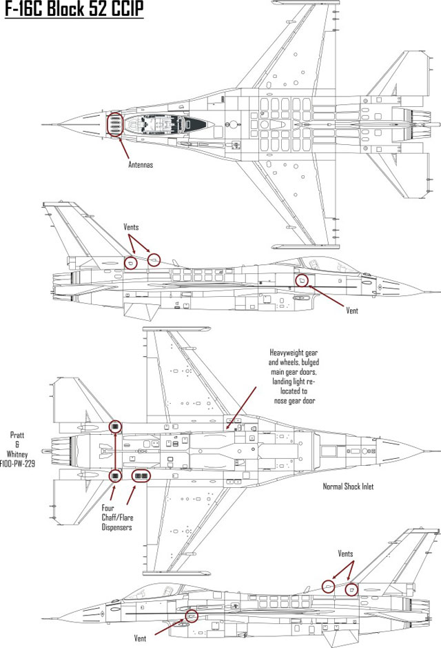 f 16 engine diagram 1988 ford f 150 engine diagram how to build various f-16 blocks using tamiya's kits by ... #9