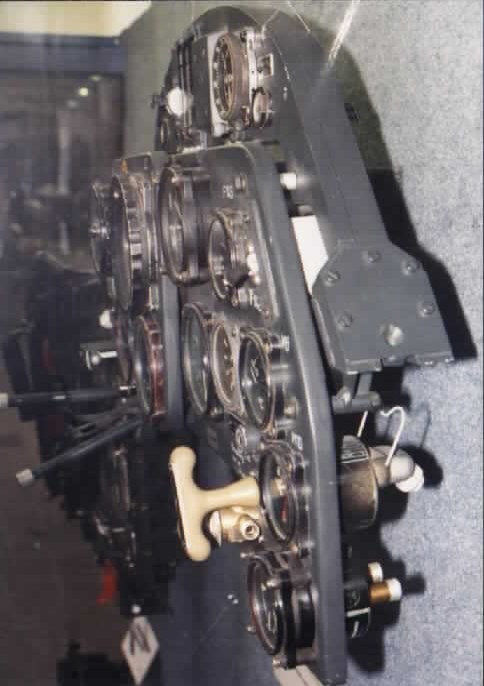 the bf109g6 instrument panel