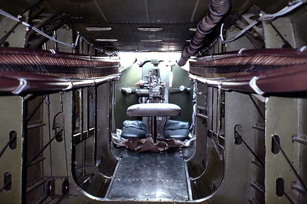 Inside the B-25J by Ron Cline