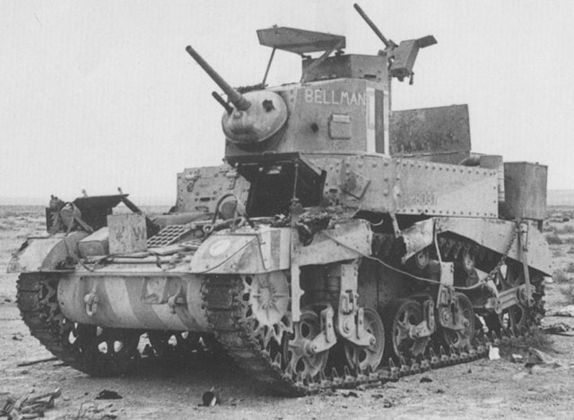 M3 Stuart light tank
